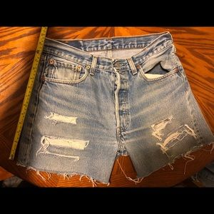 Destroyed 90's Levi's